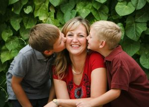 Mother-with-sons